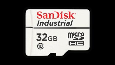 SanDisk Endüstriyel Sınıf MicroSD Kart